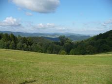 Pohled na Horní Bečvu