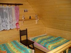 Podkroví chaty v Beskydech