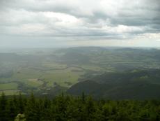 Pohled z Velkého Javorníku
